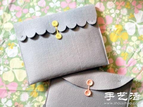 平板电脑保护套手工制作教程 -  www.shouyihuo.com