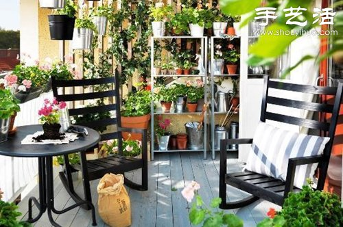 給自家的陽台DIY一片菜地