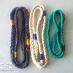 旧T恤变废为宝手工制作装饰用编织绳