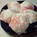 拼布手工制作花朵靠枕/抱枕/枕套