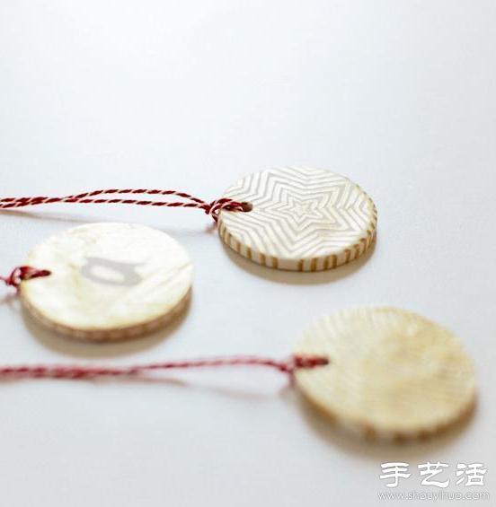 超轻粘土DIY手工制作清新吊坠教程
