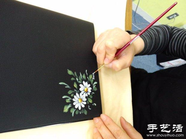 教你雏菊的画法 画雏菊的图解教程