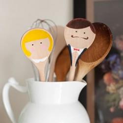 超有生活情趣的木勺创意手工DIY