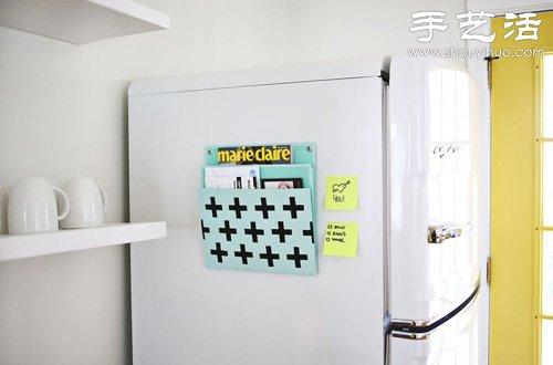 冰箱贴的原理_利用冰箱贴原理diy手工制作杂志架