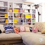 温馨漂亮的沙发布置效果图
