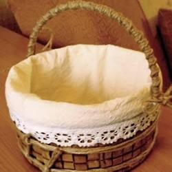 塑料桶废物利用手工制作提篮/篓子