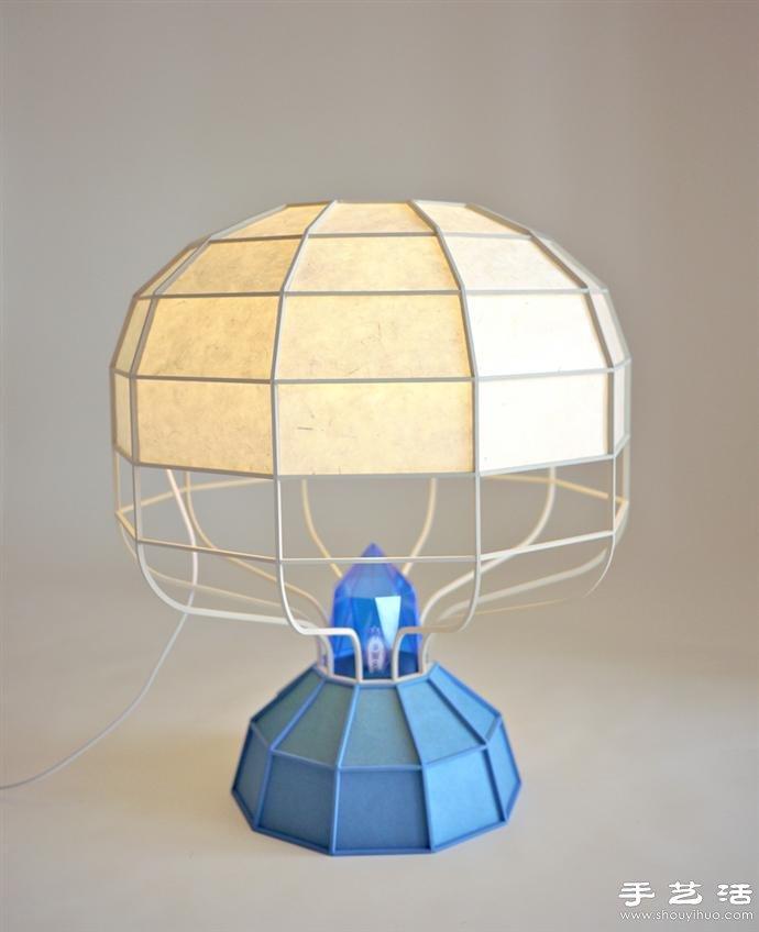 融合中西方文化的燈籠外觀創意燈具DIY