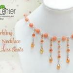 水晶珠/串珠/水钻+铁丝 手工制作时尚优雅
