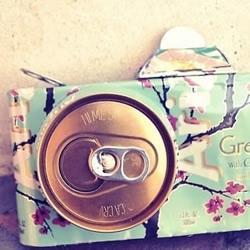 易拉罐变废为宝手工制作的照相机模型