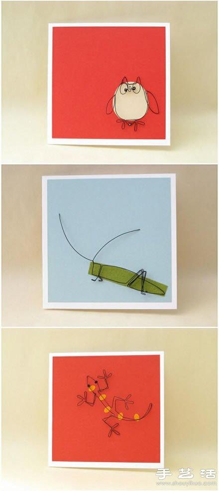 创意铁丝装饰画/壁画/墙挂DIY手工制作-www.shouyihuo.com