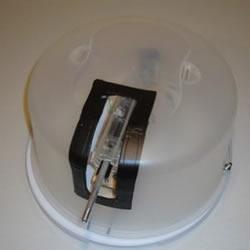 蛋糕盒、气弹枪及遥控器DIY遥控炮塔