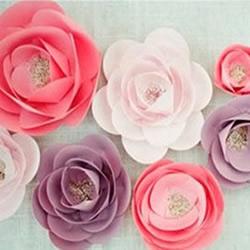 唯美纸花/花朵胸针手工制作图解教程
