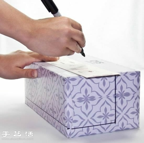 自制diy纸巾盒_纸盒/包装盒/抽纸盒变废为宝DIY玩具沙发_手艺活网