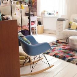 温馨简单的一居室单身公寓布置设计