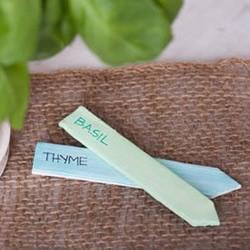 粘土手工制作 给盆栽DIY一款可爱的小标签