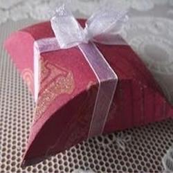 硬卡纸+光盘 自己动手制作喜糖包装盒
