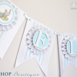 儿童生日派对纯美装饰和生日道具