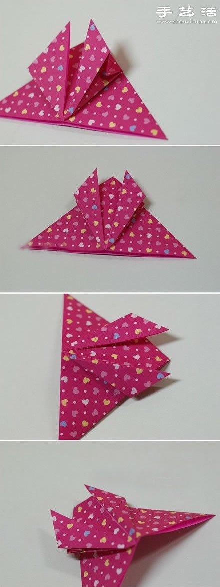 动物身上的花纹_超逼真的蝴蝶折纸教程图解_手艺活网