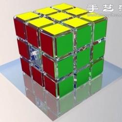 魔方结构三维立体模型图