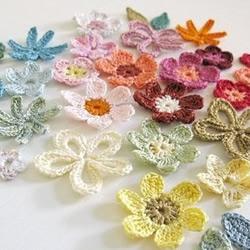 上等蕾丝线手工针织漂亮花朵