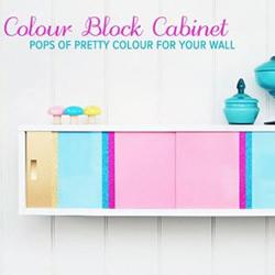家居改造:DIY色彩炫丽墙挂收纳箱