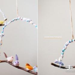 手工鸟儿挂件工艺品制作方法