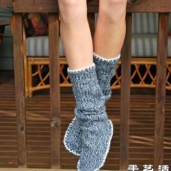 旧毛裤变废为宝手工制作毛线鞋