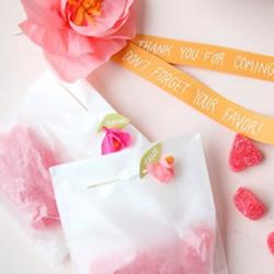 牙签+皱纹纸 DIY情人节浪漫包装装饰玫瑰
