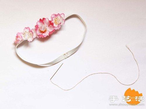 櫻花造型可愛書籤手工製作方法