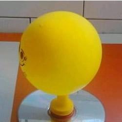 气球+光盘 手工制作能滑动的玩具气垫船