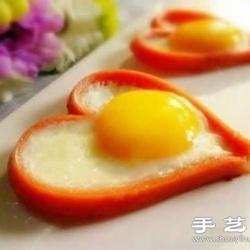 教你如何DIY浓情蜜意的爱心早餐