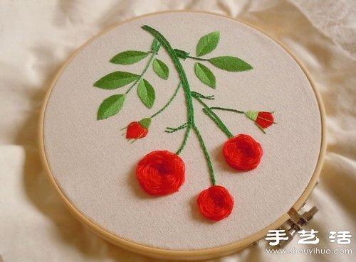 装修步骤_清新漂亮的手工刺绣作品欣赏_手艺活网
