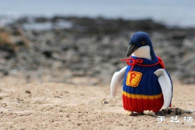 給企鵝穿上針織毛衫