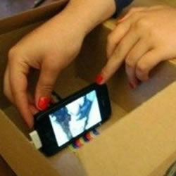 自制手机投影仪 自制投影仪教程