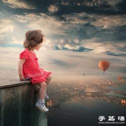 梦幻般的创意儿童摄影作品欣赏