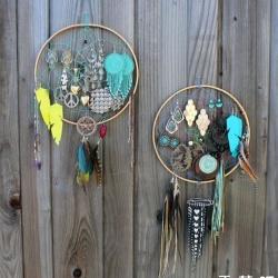 DIY印第安民族特色风铃挂件