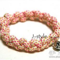 韩式风格漂亮手绳手链DIY制作图解教程