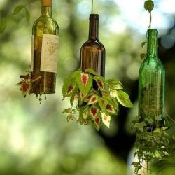 红酒瓶/玻璃瓶废物利用DIY实用家居用品