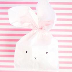 超可爱萌兔子礼品包装袋DIY制作方法