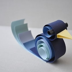 卷纸制作的可爱啄木鸟
