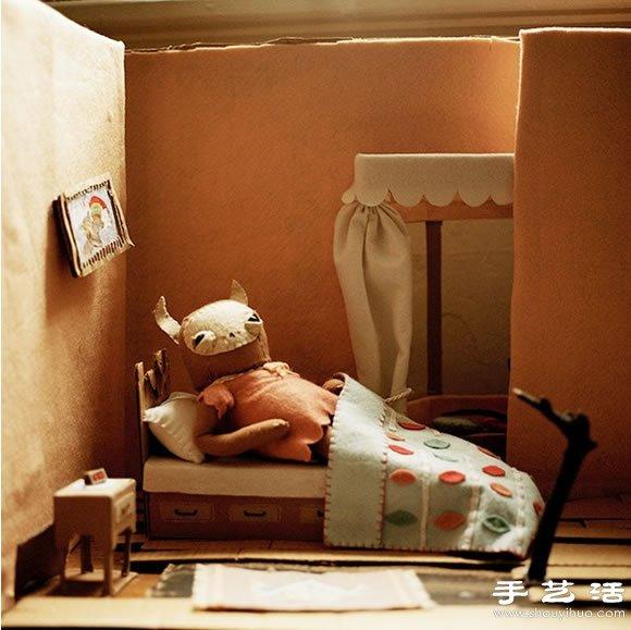 童話般的手工布娃娃店鋪