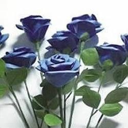 手揉纸DIY手工制作漂亮的紫玫瑰