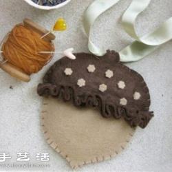 可爱干果造型香包手工制作图解教程