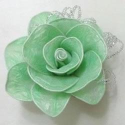 垃圾袋/丝袜DIY手工制作精美丝袜花玫瑰花