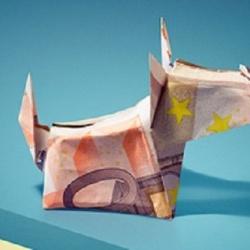 荷兰银行推出的创意纸币折纸海报