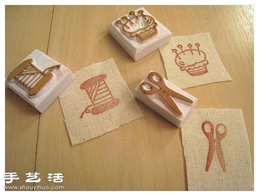 简单有趣的儿童橡皮章制作 -  www.shouyihuo.com