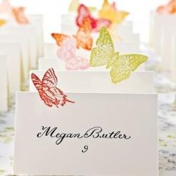 美翻了的蝴蝶剪纸手工作品