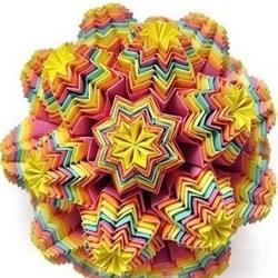 精湛的手工立体折纸作品欣赏