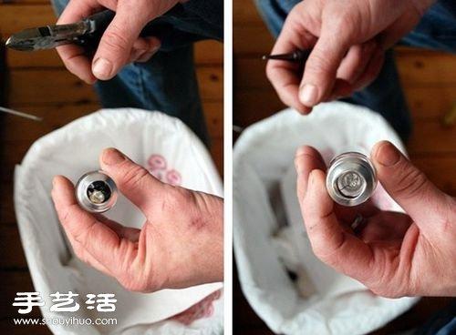 燈泡+鐵絲 廢物利用製作藝術范兒花瓶