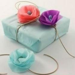 多层纸剪纸手工制作漂亮纸花装饰图解教程